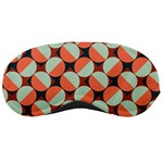 Modernist Geometric Tiles Sleeping Masks Front