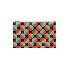Modernist Geometric Tiles Cosmetic Bag (Small)
