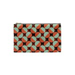 Modernist Geometric Tiles Cosmetic Bag (Small)  Front
