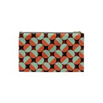 Modernist Geometric Tiles Cosmetic Bag (Small)  Back