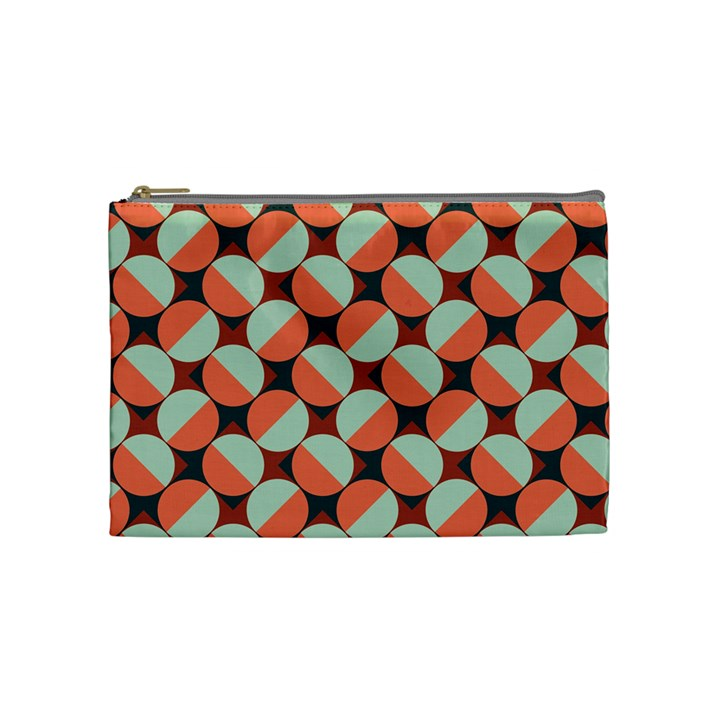 Modernist Geometric Tiles Cosmetic Bag (Medium)