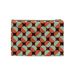 Modernist Geometric Tiles Cosmetic Bag (Medium)  Back