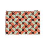 Modernist Geometric Tiles Cosmetic Bag (Large)  Back