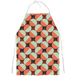 Modernist Geometric Tiles Full Print Aprons Front