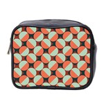Modernist Geometric Tiles Mini Toiletries Bag 2-Side Front