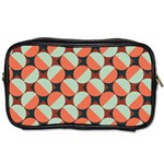 Modernist Geometric Tiles Toiletries Bags Front