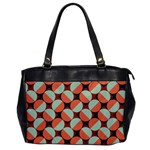 Modernist Geometric Tiles Office Handbags Front
