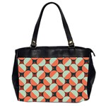 Modernist Geometric Tiles Office Handbags (2 Sides)  Front