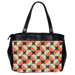 Modernist Geometric Tiles Office Handbags (2 Sides)  Back