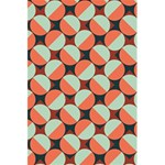 Modernist Geometric Tiles 5.5  x 8.5  Notebooks Back Cover Inside