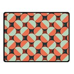 Modernist Geometric Tiles Fleece Blanket (Small) 50 x40 Blanket Front