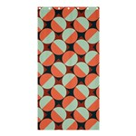 Modernist Geometric Tiles Shower Curtain 36  x 72  (Stall)  33.26 x66.24 Curtain