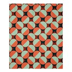 Modernist Geometric Tiles Shower Curtain 60  x 72  (Medium)  54.25 x65.71 Curtain