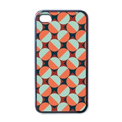 Modernist Geometric Tiles Apple iPhone 4 Case (Black)