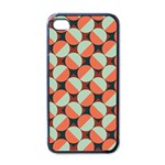 Modernist Geometric Tiles Apple iPhone 4 Case (Black) Front
