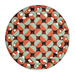 Modernist Geometric Tiles Ornament (Round Filigree)  Front