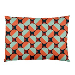 Modernist Geometric Tiles Pillow Case (Two Sides)