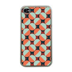 Modernist Geometric Tiles Apple iPhone 4 Case (Clear)