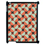 Modernist Geometric Tiles Apple iPad 2 Case (Black) Front