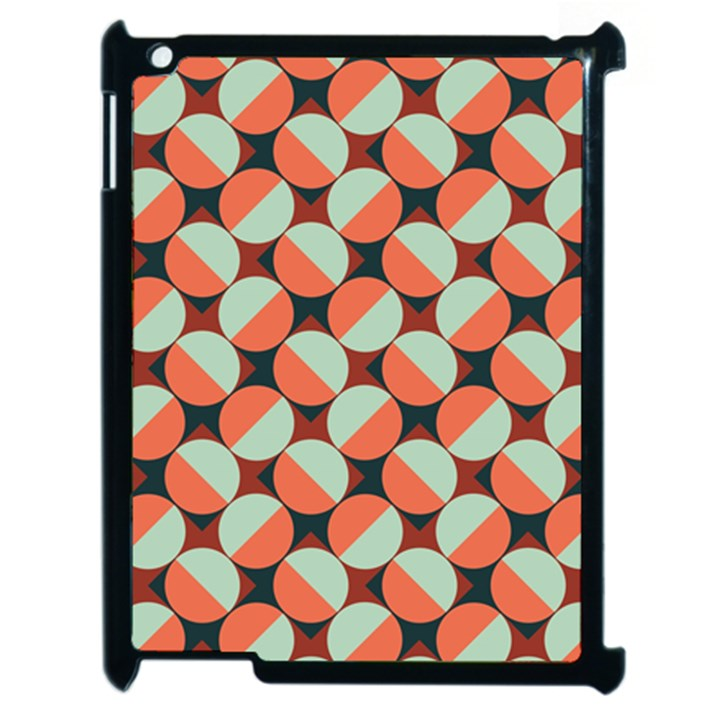 Modernist Geometric Tiles Apple iPad 2 Case (Black)
