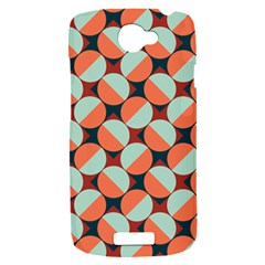 Modernist Geometric Tiles HTC One S Hardshell Case
