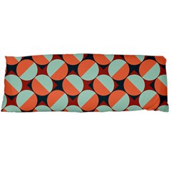Modernist Geometric Tiles Body Pillow Case (Dakimakura)