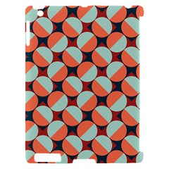 Modernist Geometric Tiles Apple iPad 2 Hardshell Case (Compatible with Smart Cover)