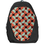 Modernist Geometric Tiles Backpack Bag Front