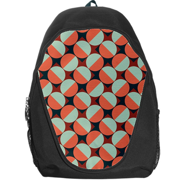 Modernist Geometric Tiles Backpack Bag