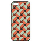 Modernist Geometric Tiles Apple iPhone 5 Seamless Case (Black) Front