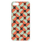 Modernist Geometric Tiles Apple iPhone 5 Seamless Case (White) Front