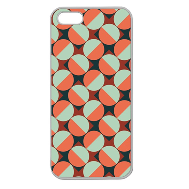 Modernist Geometric Tiles Apple Seamless iPhone 5 Case (Clear)