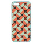 Modernist Geometric Tiles Apple Seamless iPhone 5 Case (Color) Front