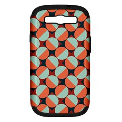 Modernist Geometric Tiles Samsung Galaxy S Iii Hardshell Case (pc+silicone)