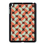 Modernist Geometric Tiles Apple iPad Mini Case (Black) Front