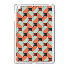 Modernist Geometric Tiles Apple iPad Mini Case (White)