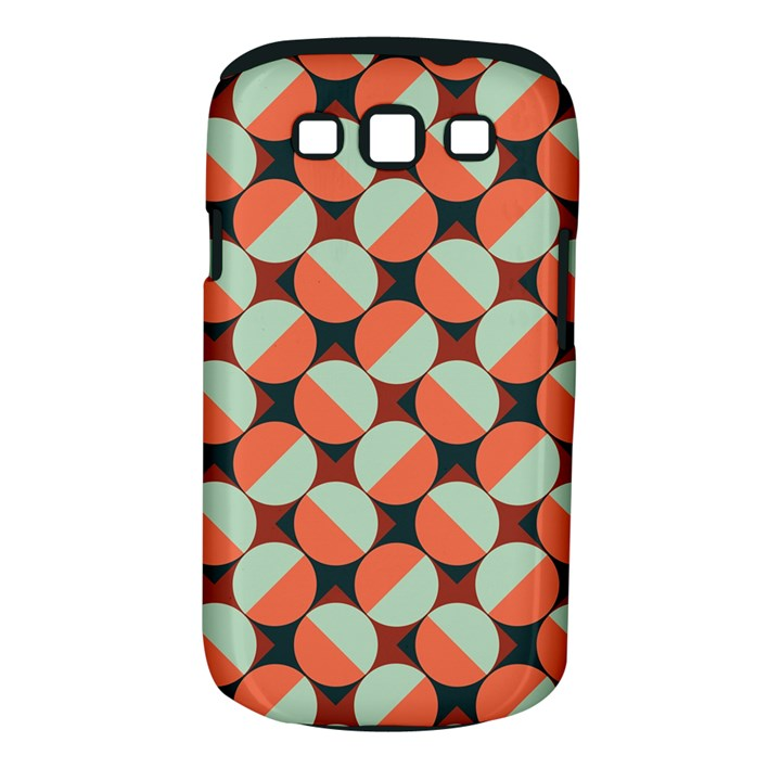 Modernist Geometric Tiles Samsung Galaxy S III Classic Hardshell Case (PC+Silicone)