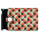 Modernist Geometric Tiles Apple iPad 2 Flip 360 Case Front