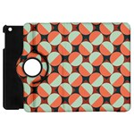 Modernist Geometric Tiles Apple iPad Mini Flip 360 Case Front