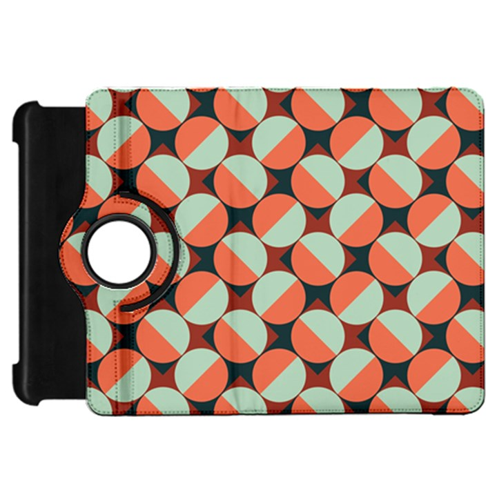Modernist Geometric Tiles Kindle Fire HD Flip 360 Case