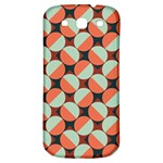 Modernist Geometric Tiles Samsung Galaxy S3 S III Classic Hardshell Back Case Front