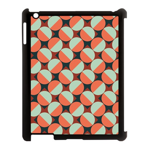 Modernist Geometric Tiles Apple iPad 3/4 Case (Black)