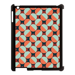 Modernist Geometric Tiles Apple Ipad 3/4 Case (black)