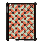 Modernist Geometric Tiles Apple iPad 3/4 Case (Black) Front