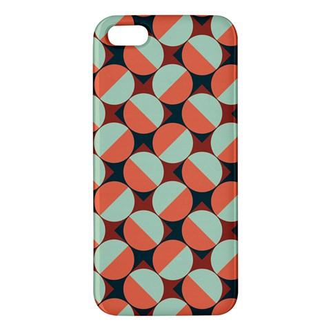 Modernist Geometric Tiles Apple iPhone 5 Premium Hardshell Case