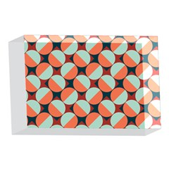 Modernist Geometric Tiles 4 x 6  Acrylic Photo Blocks