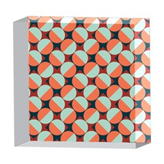 Modernist Geometric Tiles 5  x 5  Acrylic Photo Blocks