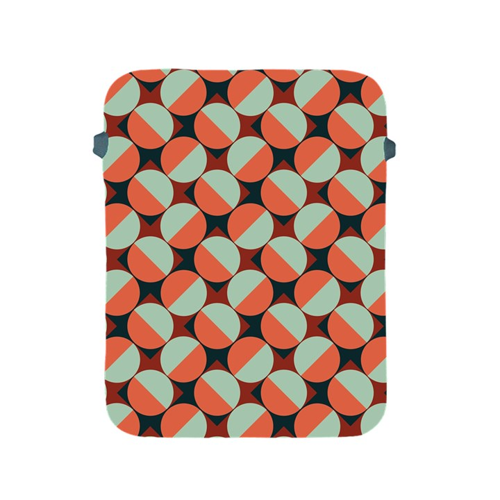 Modernist Geometric Tiles Apple iPad 2/3/4 Protective Soft Cases