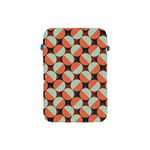 Modernist Geometric Tiles Apple iPad Mini Protective Soft Cases Front