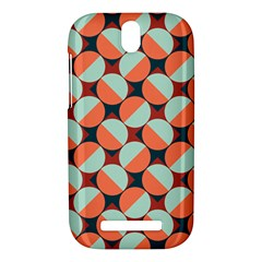 Modernist Geometric Tiles HTC One SV Hardshell Case